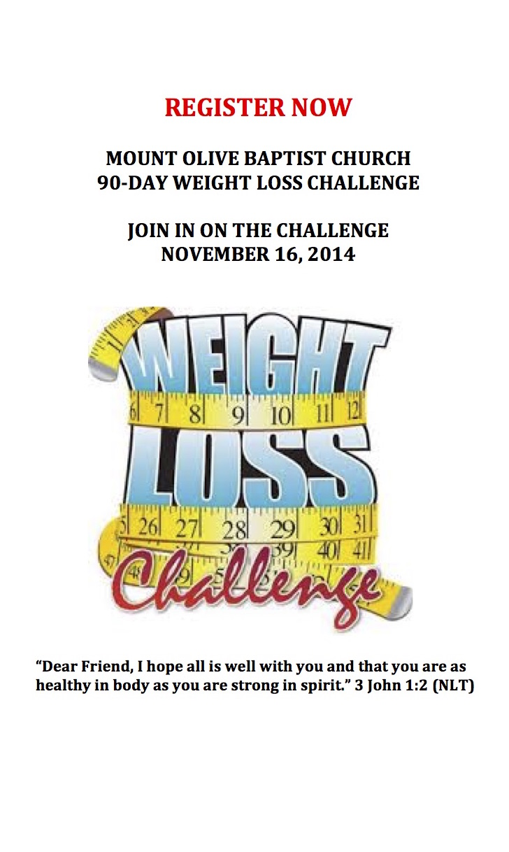 MOBC's Weight Loss Challenge
