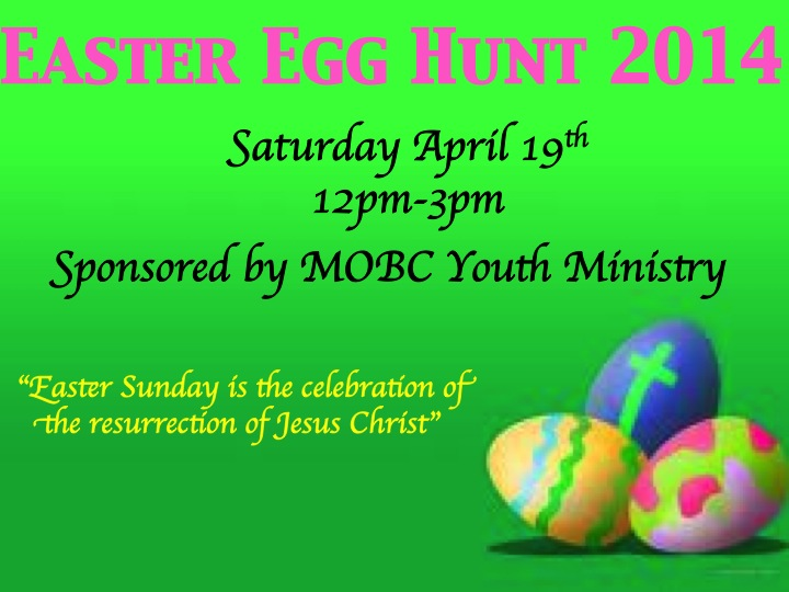 MOBC Easter Egg Hunt