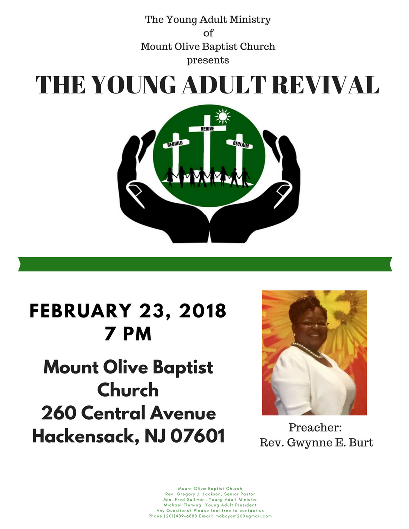 MOBC Young Adult Revival 2018